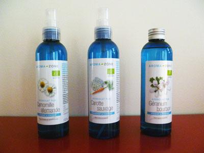 3 hydrolats