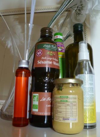 Capture bouteilles huile