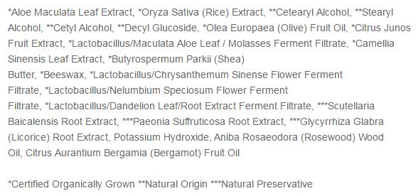 Capture ingrédients whamisa nettoyant