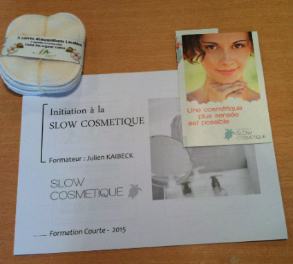 Capture table slow cosmétique
