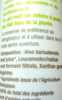 Inci aloe vera recette maison sérum peaux mixtes biotifullpeople 2