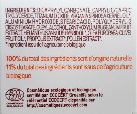 Inci composition acorelle spray 50 biotifullpeople