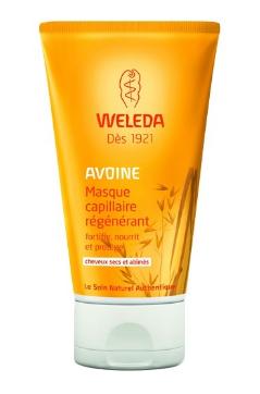 Masque capillaire avoine Weleda biotifullpeople